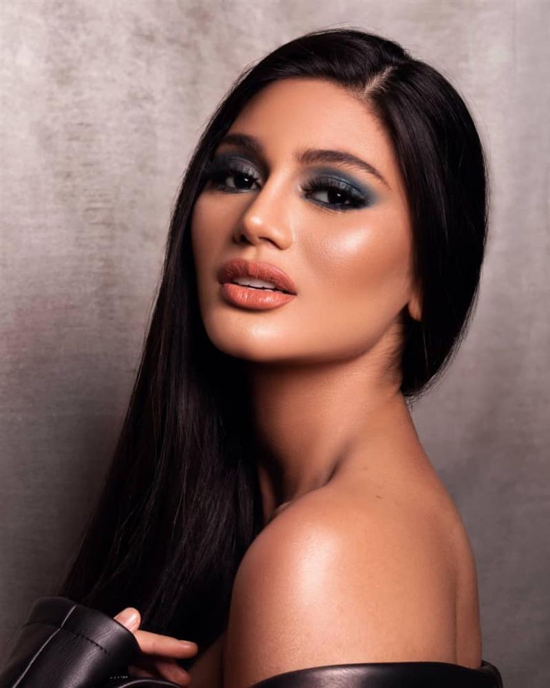 Bản tin Hoa hậu Hoàn vũ 3/6: Cùng để tóc ép thẳng nhưng vẻ đẹp Hoàng Thùy bỗng nhiên tắt lịm khi đặt cạnh Olivia Culpo-6