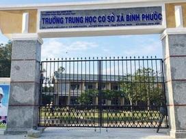 Thầy giáo ở Bình Phước dọa dùng lựu đạn 'xử' hiệu trưởng