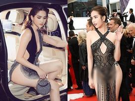 Sau bao chỉ trích váy áo, Ngọc Trinh tự khen mình: 'Lúc thì sexy táo bạo, khi lại ngây thơ không ai bằng'