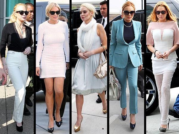 Tuyển tập thời trang hầu tòa của sao Hollywood: Cardi B chuẩn chỉnh, Lindsay Lohan như đi diễn thời trang-4