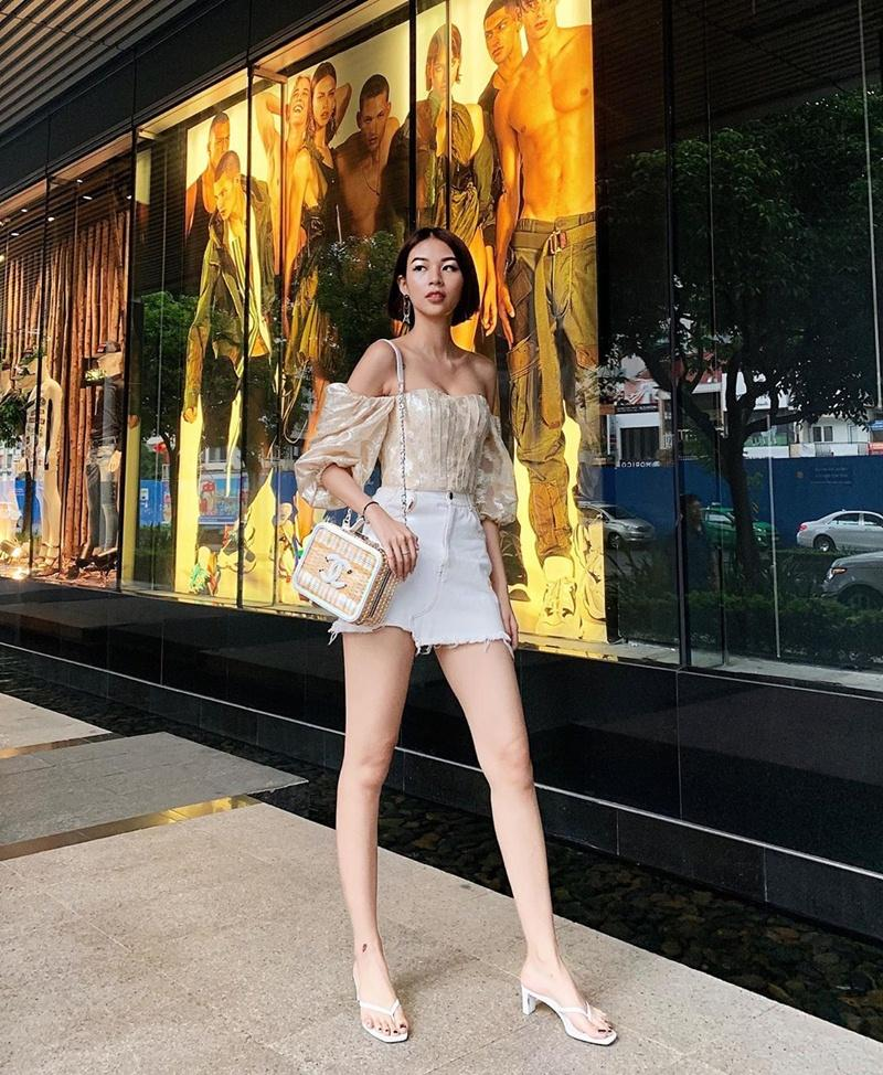 Hương Tràm hết khoe da đẹp đến street style chất lừ ở Mỹ - Sĩ Thanh lên đồ chói chang ngày hè-6