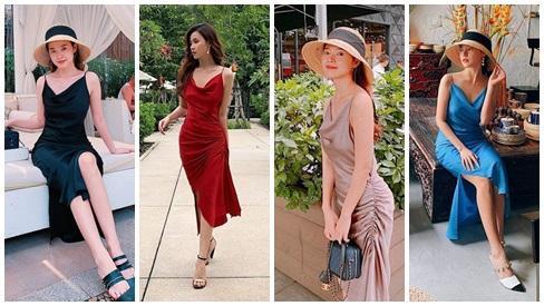 CHUNG THỦY với thời trang như Midu: Hết mua 1 mẫu váy 6 màu đến túi hiệu cũng chuộng 1 kiểu với 7 phiên bản-11