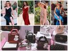 'CHUNG THỦY' với thời trang như Midu: Hết mua 1 mẫu váy 6 màu đến túi hiệu cũng chuộng 1 kiểu với 7 phiên bản