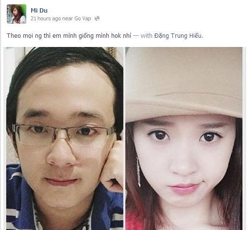 Tỷ năm mới được chị gái nổi tiếng cho lên sóng, em trai Midu khiến hội gái xinh say như điếu đổ với ngoại hình thư sinh-6