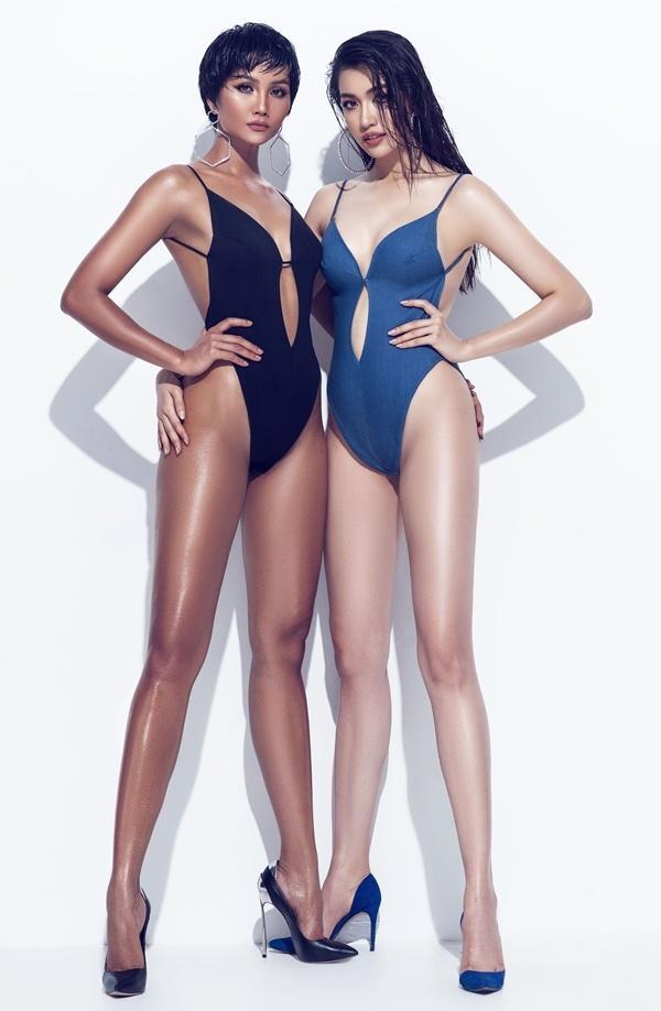 Nhìn HHen Niê và Lệ Hằng tình tứ khi chụp bikini, fan liên tưởng ngay đến cặp đôi bách hợp Kỳ Duyên - Minh Triệu-3