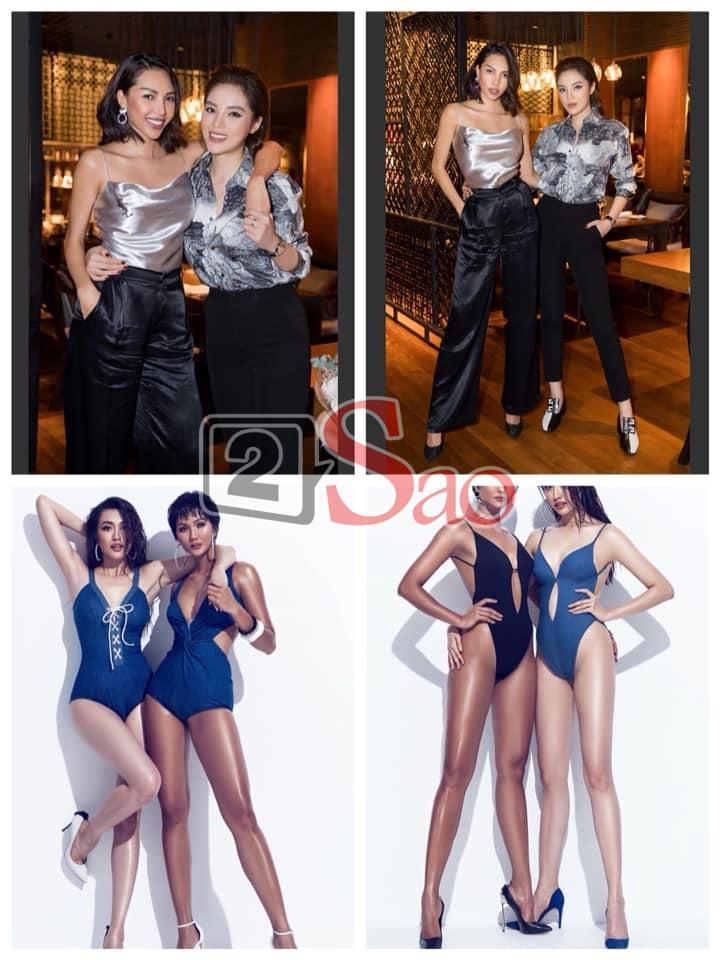 Nhìn HHen Niê và Lệ Hằng tình tứ khi chụp bikini, fan liên tưởng ngay đến cặp đôi bách hợp Kỳ Duyên - Minh Triệu-7