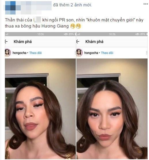 Hết bị soi photoshop méo tường, Hà Hồ lại bị chê như người chuyển giới-5