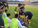 Đình Trọng chấn thương nghiêm trọng, chia tay SEA Games
