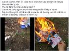 Xôn xao clip vợ đốt ảnh cưới như mớ rác sau ly hôn chỉ vì người thứ ba của chồng...
