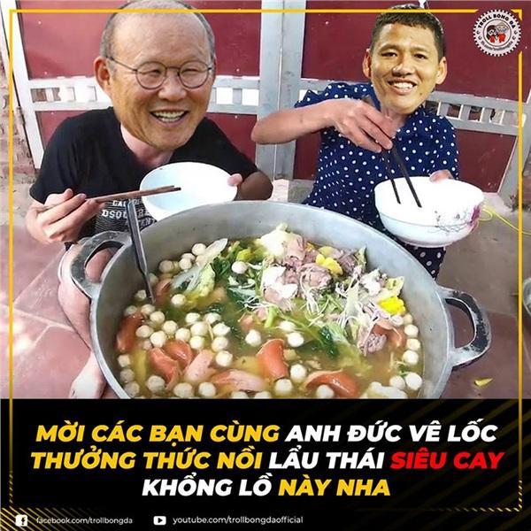 Việt Nam chiến thắng nghẹt thở trước Thái Lan, dân mạng rủ nhau chế ảnh ăn lẩu Thái-4