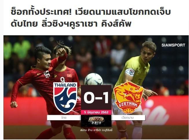 Báo Thái Lan đau đớn: Trận thua gây sốc cả dân tộc! Việt Nam đã làm chúng ta tan nát ngay tại Kings Cup-1