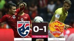 Báo Thái Lan đau đớn: 'Trận thua gây sốc cả dân tộc! Việt Nam đã làm chúng ta tan nát ngay tại King's Cup'
