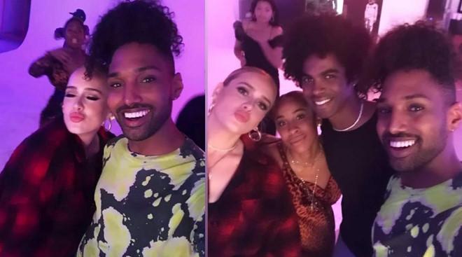 Adele trổ tài bắn rap nhanh không kém Nicki Minaj-1