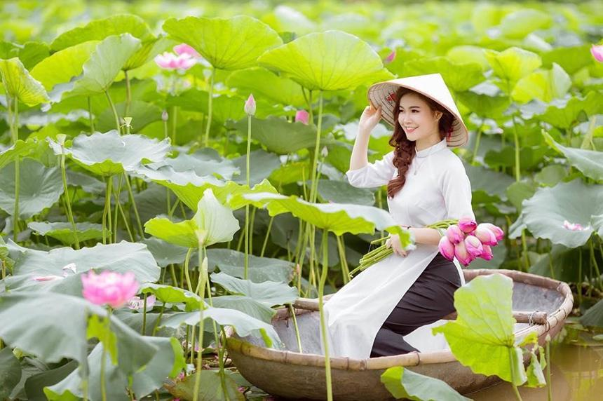 5 địa điểm chụp sen tuyệt đẹp quanh Hà Nội mùa hè này-2