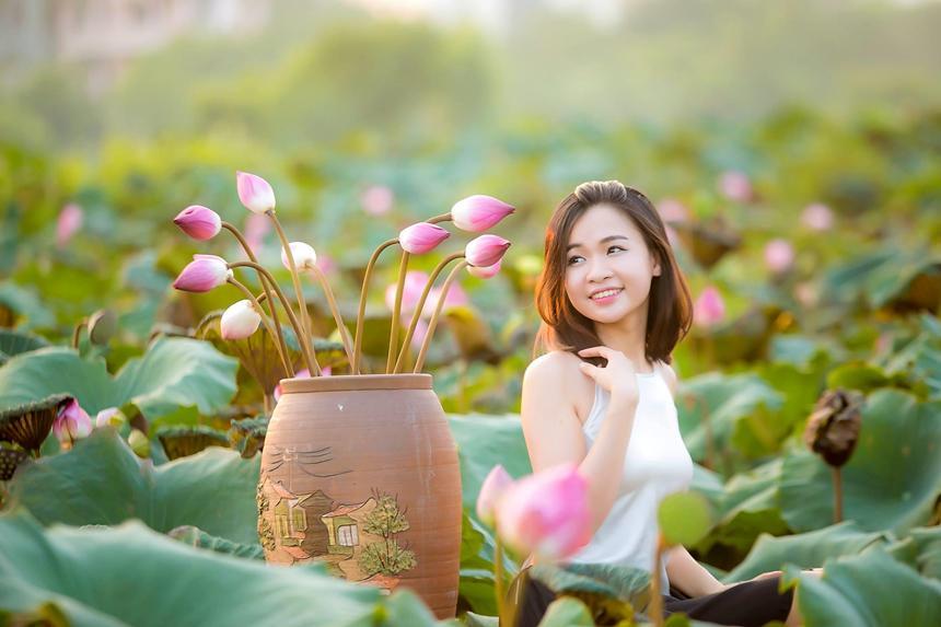 5 địa điểm chụp sen tuyệt đẹp quanh Hà Nội mùa hè này-1