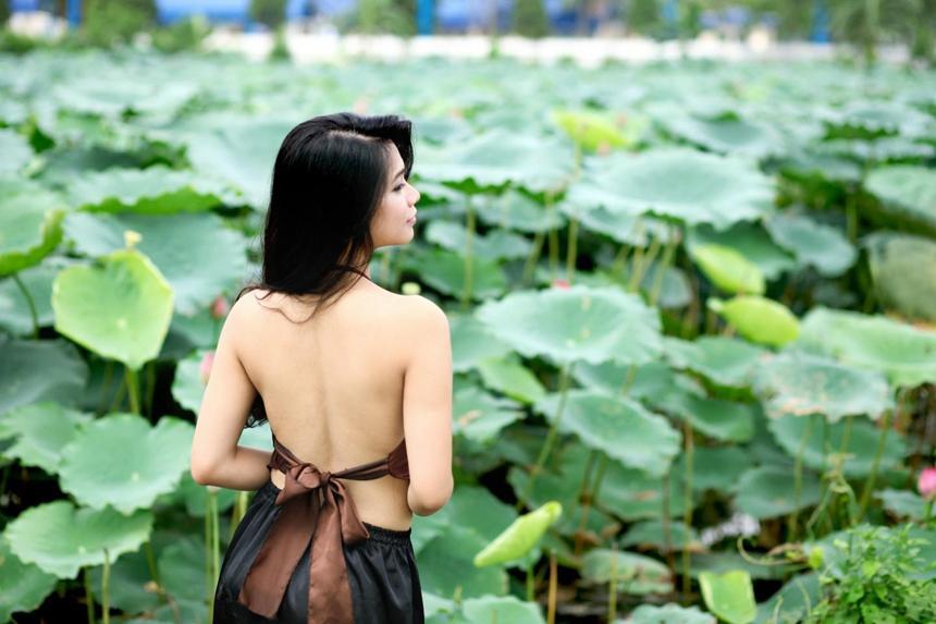 5 địa điểm chụp sen tuyệt đẹp quanh Hà Nội mùa hè này-4