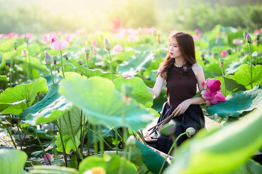 5 địa điểm chụp sen tuyệt đẹp quanh Hà Nội mùa hè này-6