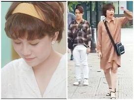 Cuối cùng cũng đến ngày này: Ánh Dương 'Về Nhà Đi Con' mặc váy, trang điểm siêu nữ tính