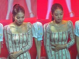 Jennie khó thở tại sự kiện, Black Pink bị đối xử bất công gây phẫn nộ