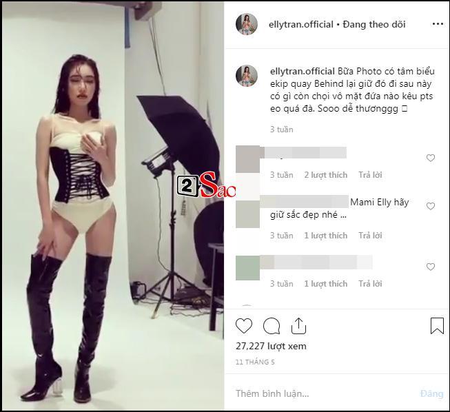Vừa bạo miệng chọi mặt đứa nào kêu photoshop, Elly Trần đã lại để lộ rõ mười mươi dấu vết bóp ảnh méo tường-5