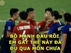 Những lần tuyển thủ Việt Nam 'lây gắt' từ hậu vệ Duy Mạnh