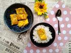 Trứng cuộn chà bông sốt mè rang đơn giản cả nhà xuýt xoa mãi