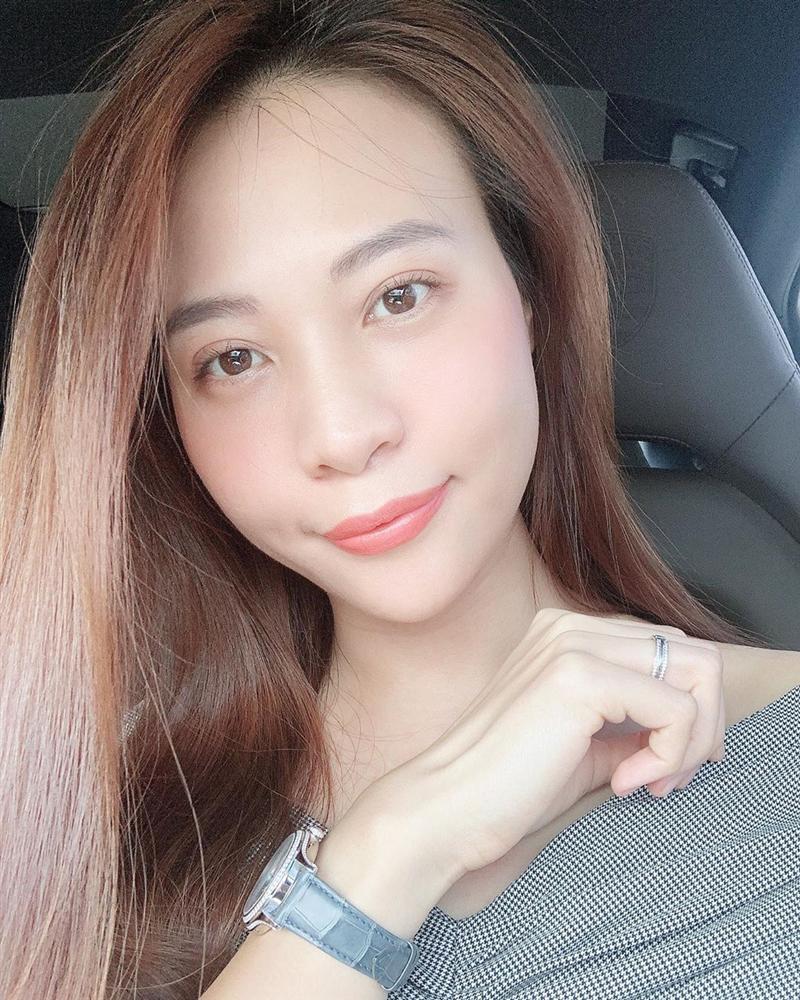 Đàm Thu Trang than mặt tròn vì lên cân khiến nghi án bầu bí càng có thêm cơ sở tin cậy-1