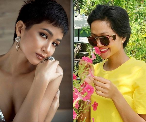 Bản tin Hoa hậu Hoàn vũ 8/6: Tóc tém là thương hiệu của HHen Niê nhưng có vẻ cô ấy đang dần mất chất-2