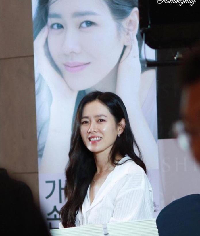 Chị đẹp Son Ye Jin khoe vẻ ngoài trẻ trung ngỡ ngàng ở tuổi 37-1