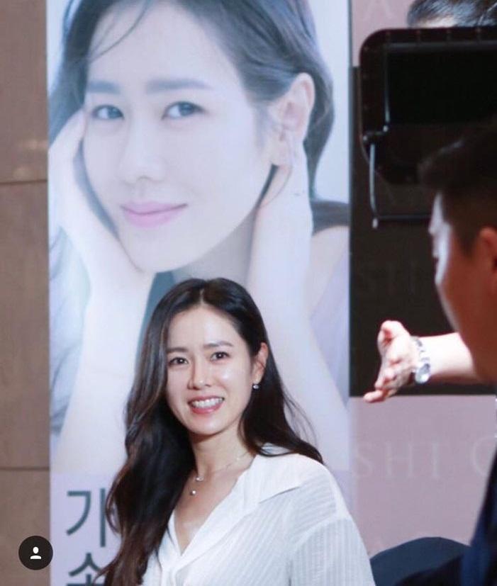Chị đẹp Son Ye Jin khoe vẻ ngoài trẻ trung ngỡ ngàng ở tuổi 37-2