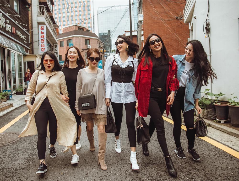 Hoa hậu Hà Kiều Anh hội ngộ hoa hậu Dương Mỹ Linh tại Hàn Quốc-10