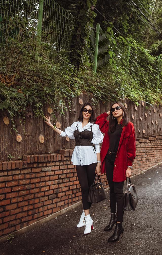 Hoa hậu Hà Kiều Anh hội ngộ hoa hậu Dương Mỹ Linh tại Hàn Quốc-7