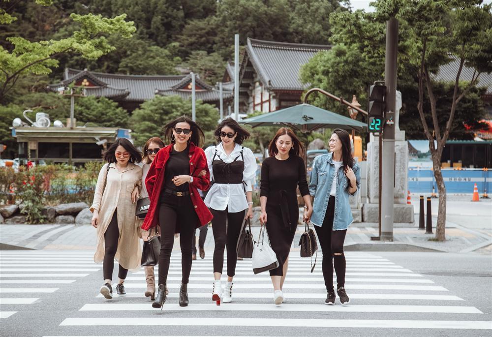 Hoa hậu Hà Kiều Anh hội ngộ hoa hậu Dương Mỹ Linh tại Hàn Quốc-9