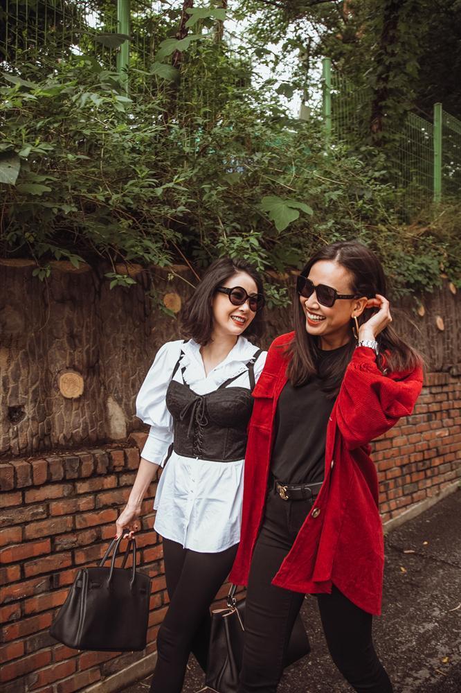 Hoa hậu Hà Kiều Anh hội ngộ hoa hậu Dương Mỹ Linh tại Hàn Quốc-8