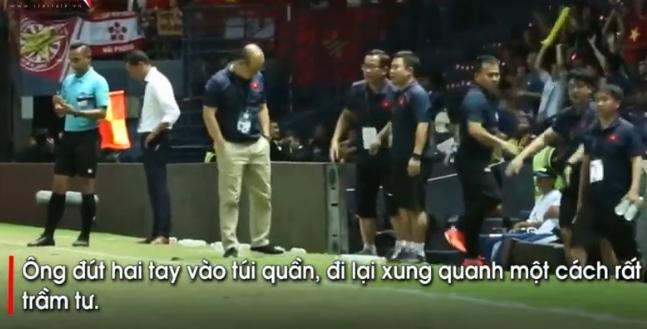 Chỉ với một biểu hiện nhỏ cho thấy thầy Park đã biết trước đội tuyển Việt Nam sẽ bại trận trong tay Curacao-1