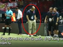 Chỉ với một biểu hiện nhỏ cho thấy thầy Park đã biết trước đội tuyển Việt Nam sẽ bại trận trong tay Curacao