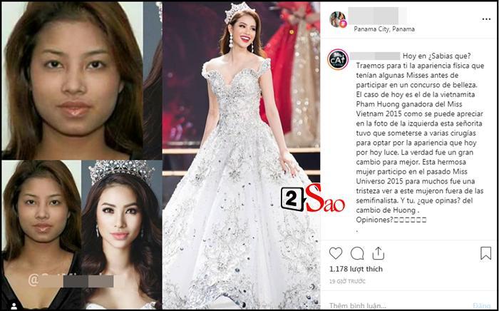 Diễn đàn hoa hậu quốc tế khẳng định gây shock: Phạm Hương đã trải qua nhiều cuộc phẫu thuật thẩm mỹ-2