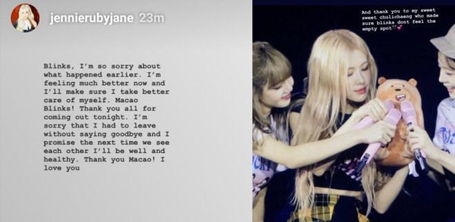 Jennie tiếp tục đau đớn, khó thở, phải bỏ diễn giữa chừng-2