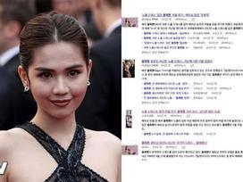 Người Hàn mắng, đề nghị xử phạt Ngọc Trinh mặc thô tục tại Cannes