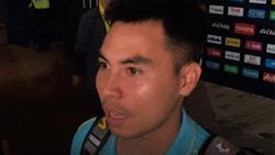 Ghi bàn thắng vào lưới Curacao nhưng khi được hỏi áp lực đấu với Thái Lan, Đức Huy trả lời lém lỉnh đúng chuẩn quý tộc