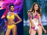 4 năm sau Miss Universe, Phạm Hương mặc bikini tái hiện màn catwalk mình xà gây tranh cãi-5