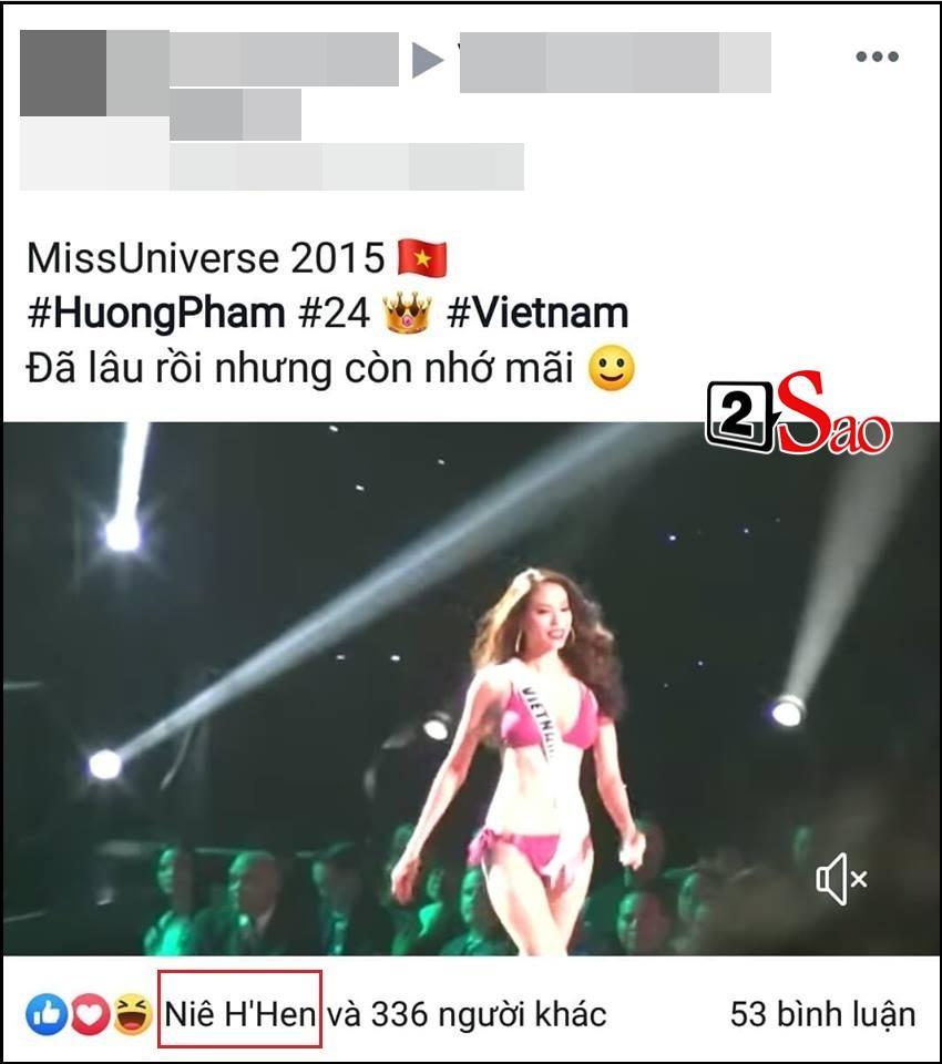 Catwalk đẳng cấp hơn hẳn Phạm Hương tại Miss Universe, HHen Niê vẫn làm điều đặc biệt này khi xem màn trình diễn của đàn chị-1