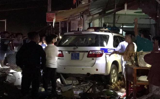 Cán bộ công an tỉnh Bình Dương bình thản đưa tiền ra sau khi lái xe tông 1 người tử vong-1