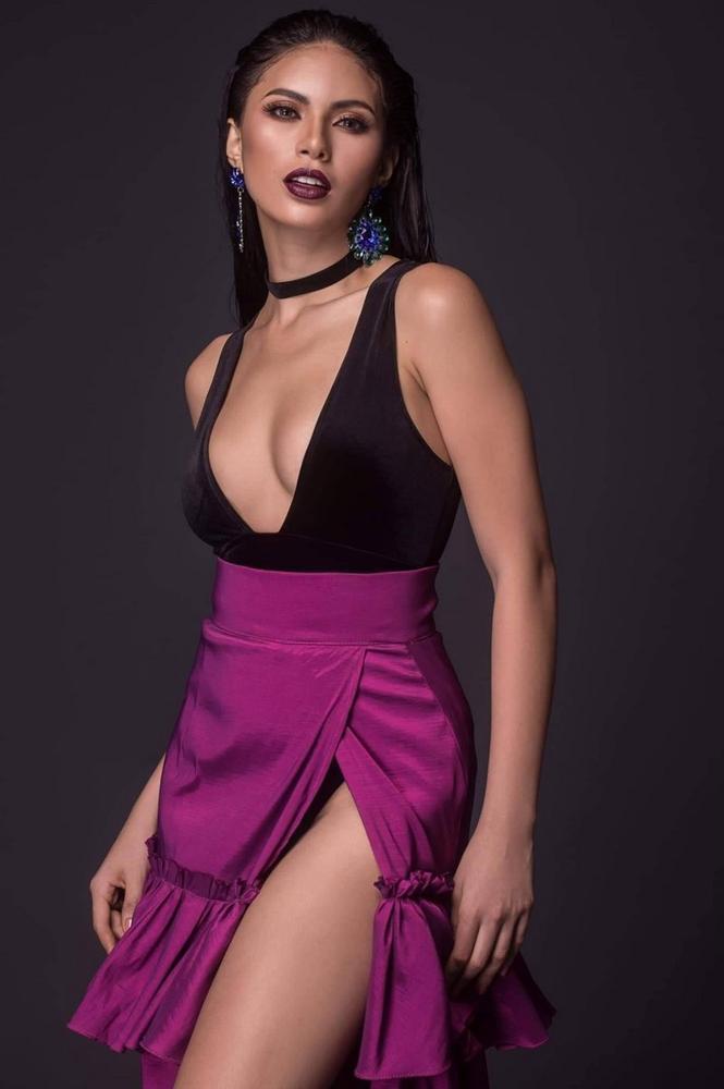 Đối thủ Philippines lộ diện quá xinh đẹp khiến fans lo sốt vó cho Hoàng Thùy tại Miss Universe 2019-8