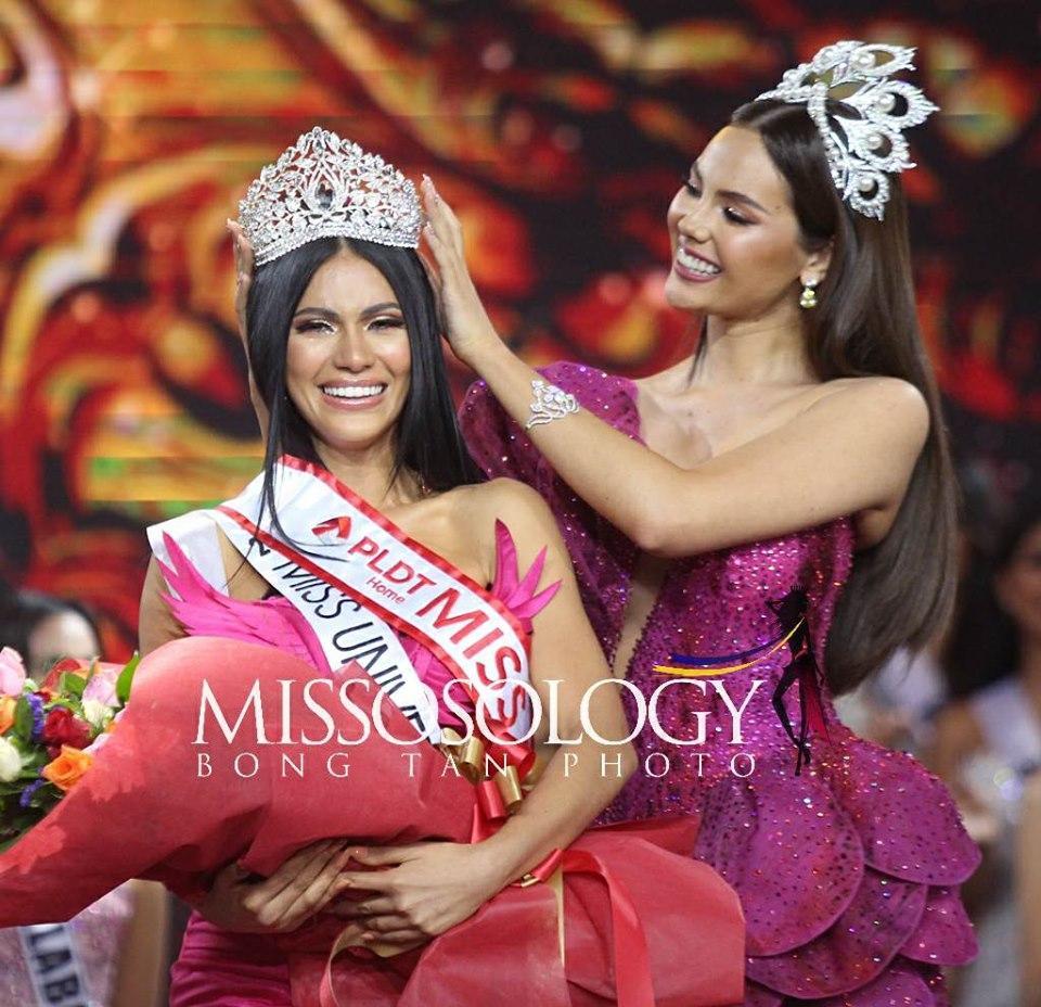 Đối thủ Philippines lộ diện quá xinh đẹp khiến fans lo sốt vó cho Hoàng Thùy tại Miss Universe 2019-2