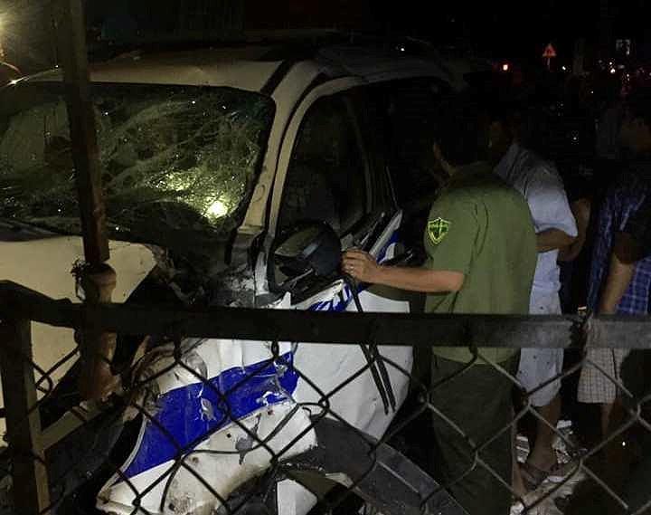 Đình chỉ công tác cán bộ lái xe CSGT gây tai nạn ở Bình Dương-2