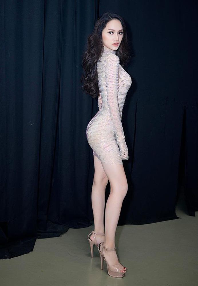 Thoạt qua tưởng nude, Hương Giang gợi nhớ đến hình ảnh xuất sắc thời thi Hoa hậu chuyển giới Quốc tế 2018-5