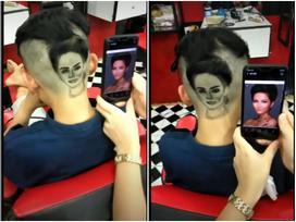 Fan cuồng đến độ khắc hình H'Hen Niê lên đầu, anh chàng này gây bão cộng đồng yêu sắc đẹp