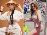 Bản tin Hoa hậu Hoàn vũ 11/6: Mặc đầm xuyên thấu lộ cả miếng dán ngực mà Phạm Hương vẫn không cuốn hút bằng mỹ nữ U50-11