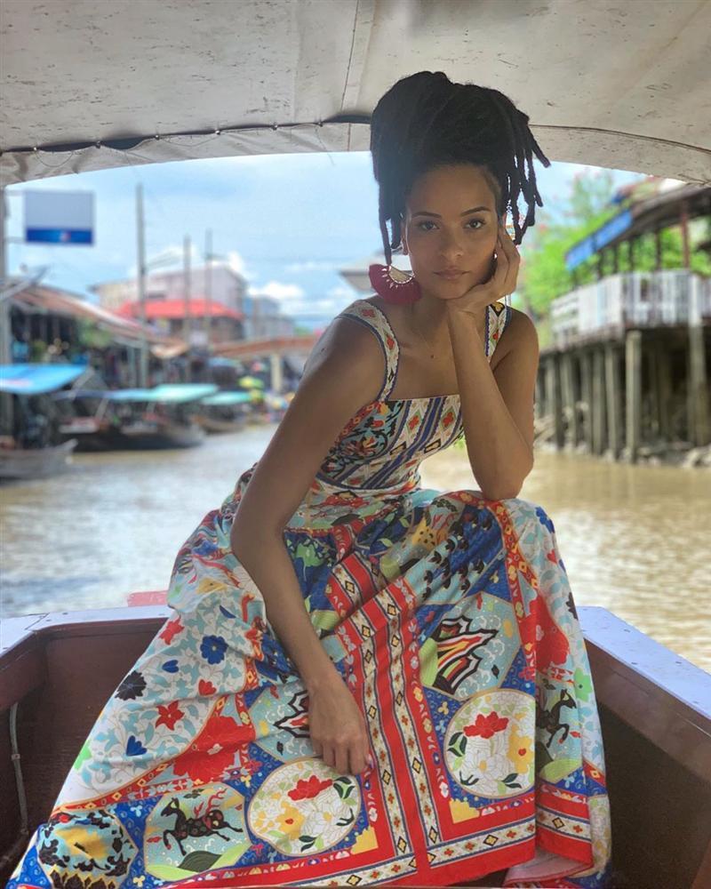 Bản tin Hoa hậu Hoàn vũ 10/6: Đồ nhàu xuất sắc giúp Trương Thị May chặt đẹp mỹ nữ mặc cũng như không-11